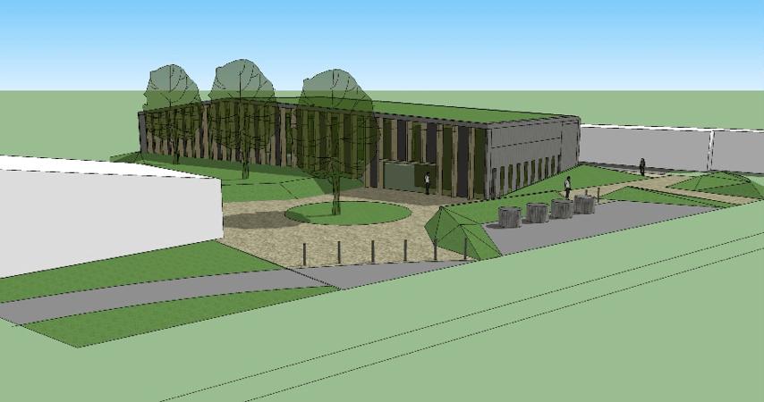Salle d'évolution sportive